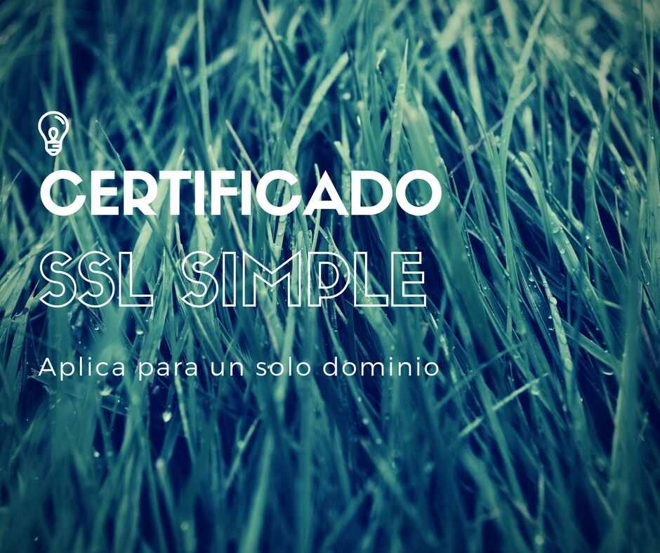 Certificado SSL Simple